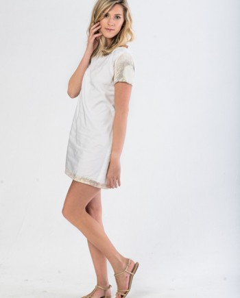 The Little White Smock Dress