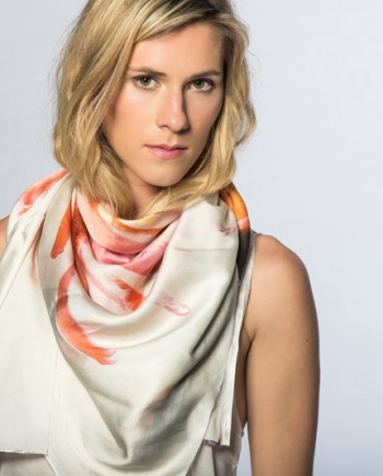 King Protea Satin Scarf