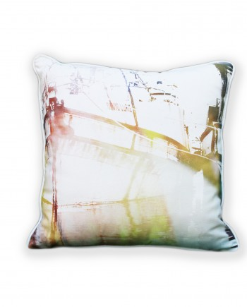 Yellow Kalk Bay Boats Cushion