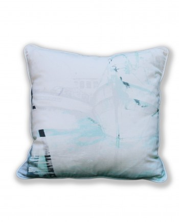 Light Kalk Bay Boats Cushion
