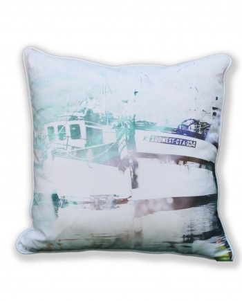 Turquoise Kalk Bay Boat Cushion