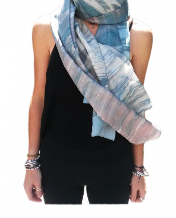 Barbi Hanan Reflections Scarf
